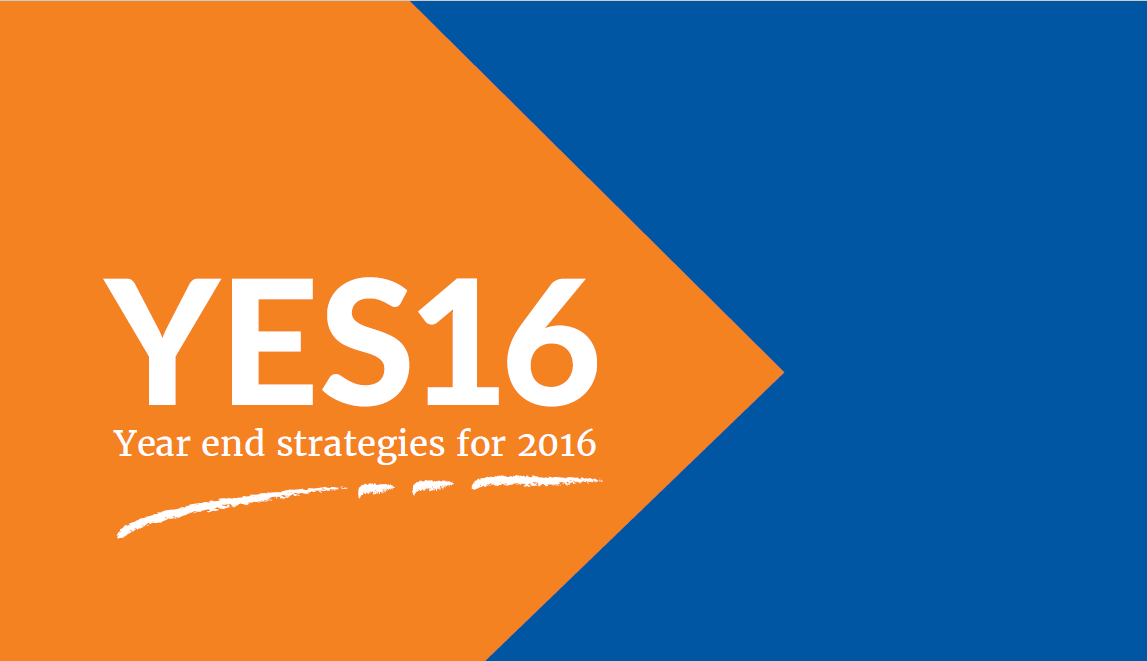 Year End Strategies for 2016